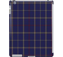 00470 Brooks Brothers Tattersall Blue Fashion Tartan  iPad Case/Skin