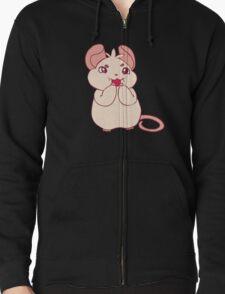 Cream Rat Enjoying a Strawberry T-Shirt