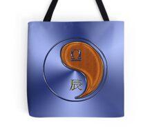 Libra & Dragon Yang Wood Tote Bag