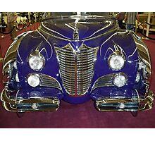 1948 Purple Cadillac Photographic Print