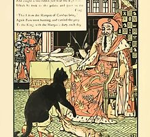 Cinderella Picture Book containing Cinderella, Puss in Boots, and Valentine and Orson Illustrated by Walter Crane 1911 20 - A Rabbit for the King by wetdryvac