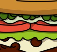 War and Peas Sticker