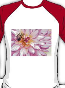 Beautiful Bee & Dahlia T-Shirt