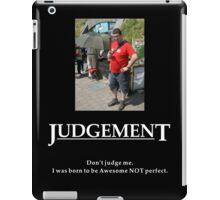 Life's Lesson 7 - Judgement iPad Case/Skin