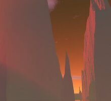 Sunset Sentinels by KirneH001