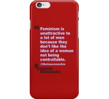 Not Controllable iPhone Case/Skin