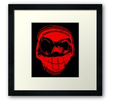 Pysedian - Vector Red Framed Print