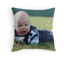 'sad sack' Throw Pillow