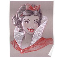 Toned Paper Snow White Poster