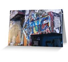 Graffiti arrow Greeting Card