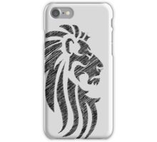 Lion Tribal Tattoo Style Distressed Design  iPhone Case/Skin