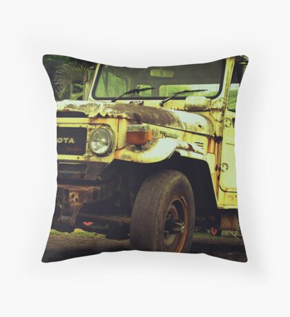 Reliable Workhorse Throw Pillow