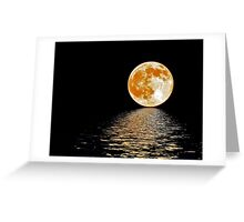 Moon~Rising Greeting Card