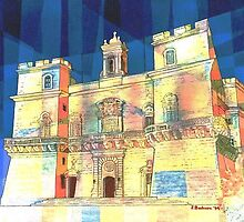 Selmun Castle - Malta by Joseph Barbara