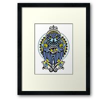 BLUE OWL Framed Print