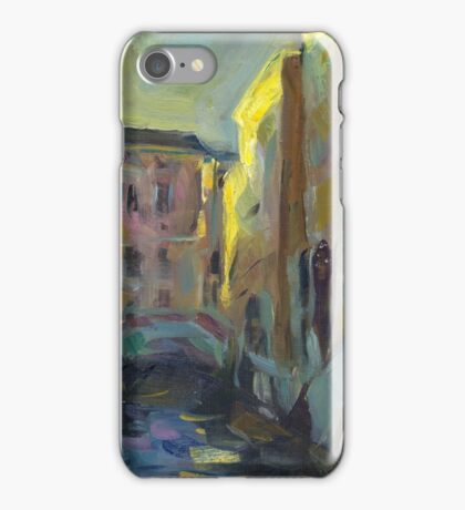 Sergey Gerasimov Venice. Evening (author's copy) iPhone Case/Skin