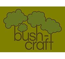 Green trees, bush craft Photographic Print