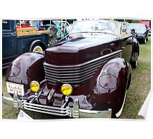 1936 Cord Model 810 Poster