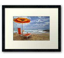 Belvedere  - Golden Beach  Framed Print