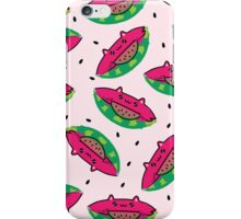 Watermelon Cat iPhone Case/Skin