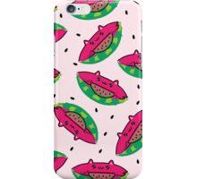Watermelon Cat iPhone Case/Skin