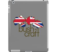 Bushcraft United Kingdom flag iPad Case/Skin