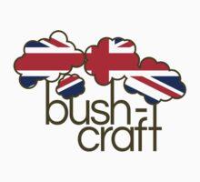 Bushcraft United Kingdom flag Kids Tee