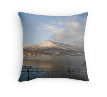 Annecy, France, Lac Annecy Throw Pillow