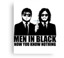 Now You Know Nothing Canvas Print