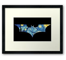Starry Knight Framed Print