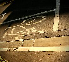 bike lane by jfpictures
