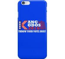 Kang - Kodos 2016 iPhone Case/Skin