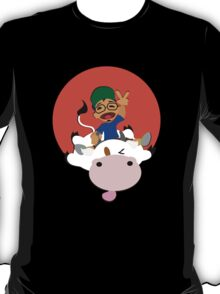Happiness is Riding a Cow T-Shirt
