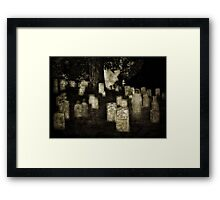 Waiting on Soldiers' Hill Framed Print