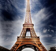 Power from the Eiffel Tower by Addnan