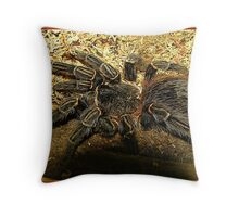 """ Creepy Crawlies"" Throw Pillow"