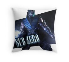 Mortal Kombat - Sub-Zero Throw Pillow