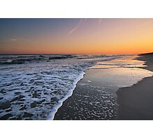 Sunset on Emerald Isle, North Carolina Photographic Print