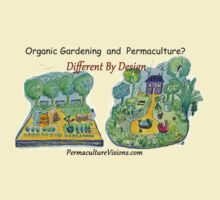 Difference Between Organic Gardening and Permaculture T-Shirt