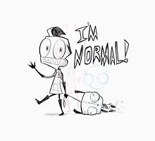 I'm Normal! Womens Fitted T-Shirt