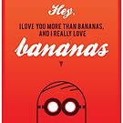 Love Bananas by PaperPlanet