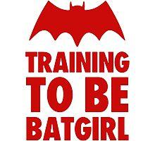 Training To Be BatGirl Photographic Print