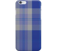 00446 Bannockbane Blue #3 Tartan  iPhone Case/Skin