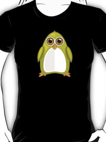 Yellow Green Penguin 2 T-Shirt