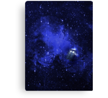 TARDIS Travelling in Time and Space Canvas Print