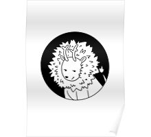 Antler Animals - Lion Poster