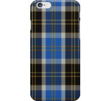 00445 Bannockbane Blue Tartan iPhone Case/Skin