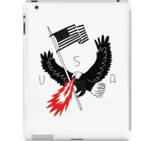 FIRE BREATHING BALD EAGLE OF PATRIOTISM iPad Case/Skin