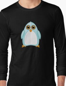 Baby Blue Penguin 2 Long Sleeve T-Shirt