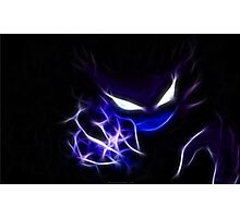 Haunter Cool Pokemon Photographic Print